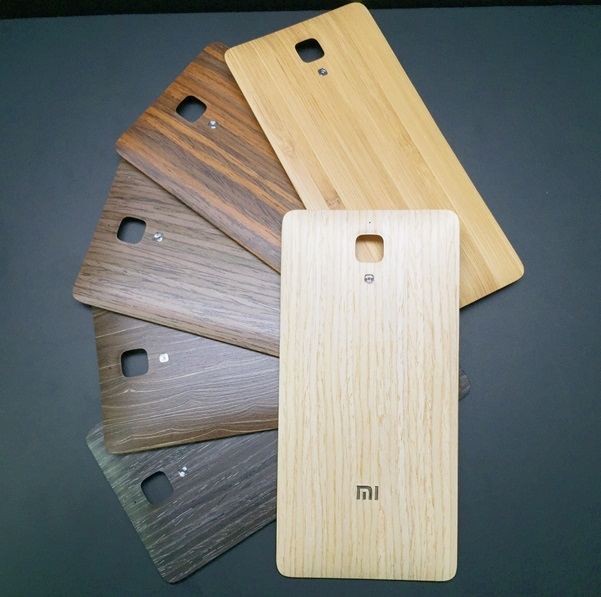 new arrival 104e7 44a02 Mi4 Limited Edition with Wood Back Cover